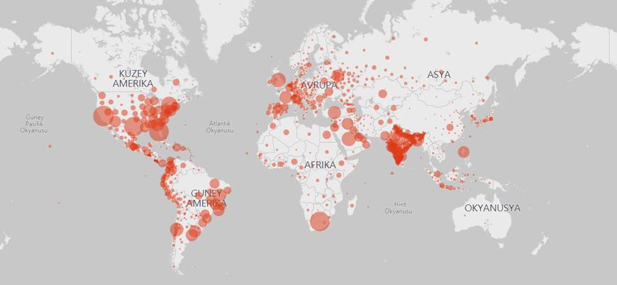 Koronavirüsün 'giremediği' 10 ülke