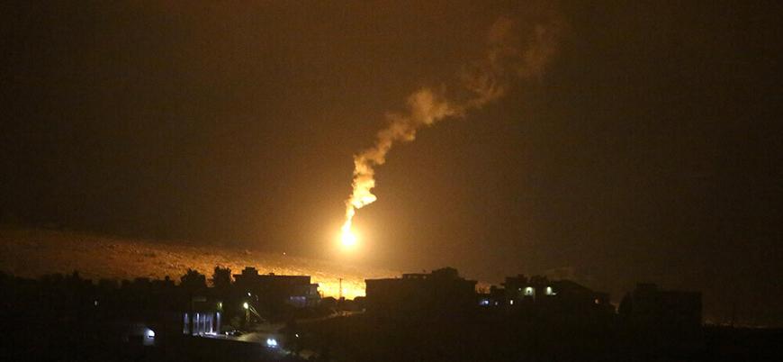 İsrail savaş uçakları Lübnan'da Hizbullah'ı hedef aldı