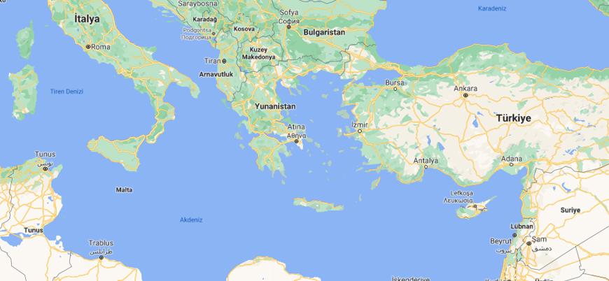 Yunanistan'dan İtalya ile paylaştığı karasularını genişletme hamlesi