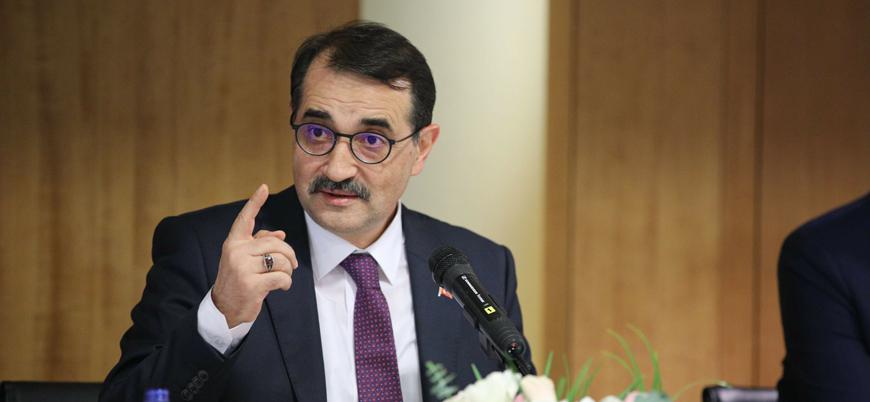 Enerji Bakanı Dönmez: İki aya yeni müjde gelebilir