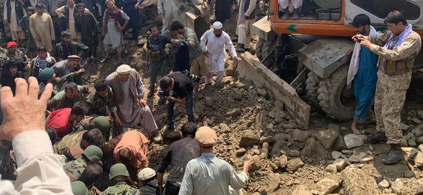 Afganistan'daki şiddetli selde ölü sayısı 120'yi aştı