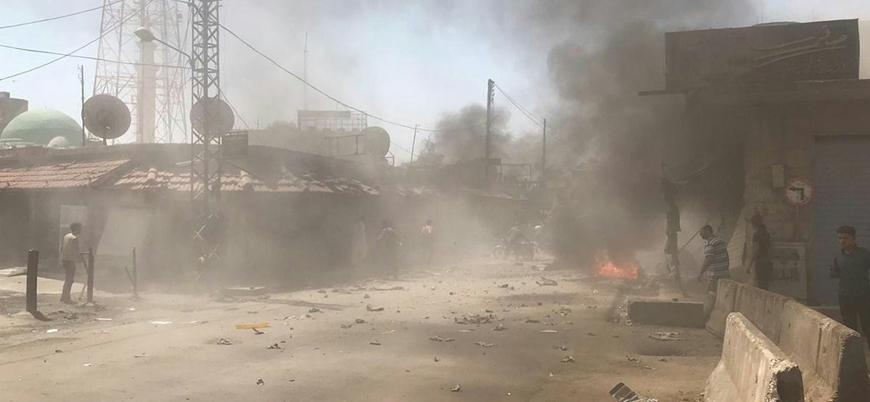 Barış Pınarı bölgesi Rasulayn'da bombalı saldırı