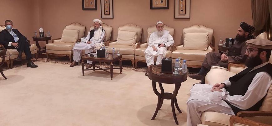 Taliban heyeti NATO temsilcisiyle bir araya geldi