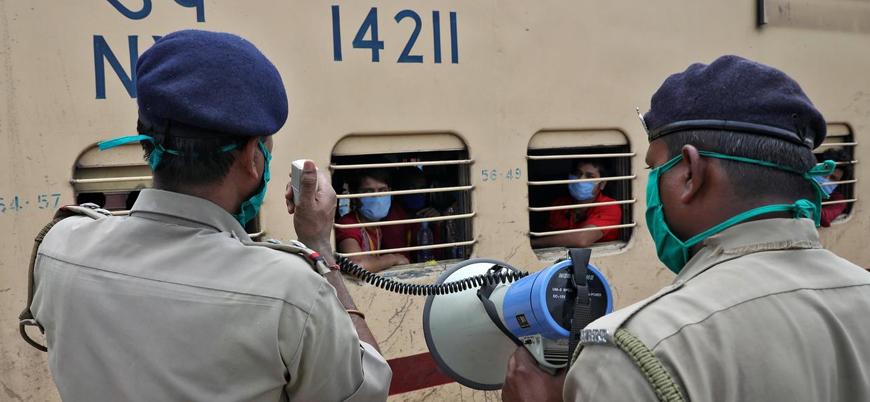 Hindistan'da bir günde 76 bin yeni vaka
