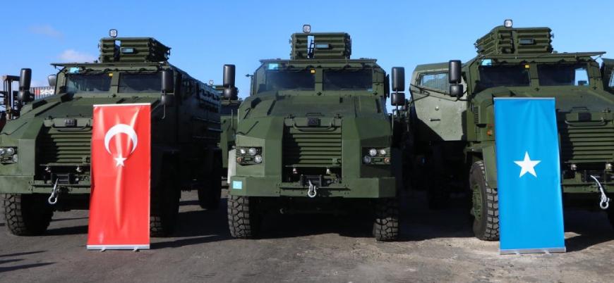 Türkiye Eş Şebab'a karşı Somali'ye zırhlı askeri araç hibe etti