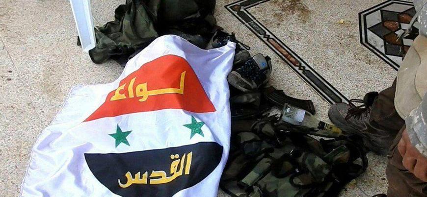 Suriye'de  Kudüs Tugayı milislerine hava saldırısı