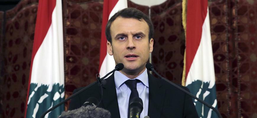 Fransa Cumhurbaşkanı Macron'dan Lübnan'da iç savaş uyarısı