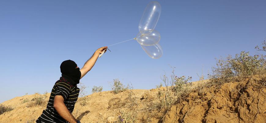 İsrail'den yangın balonlarını durdurma karşılığında Gazze'ye yardım teklifi