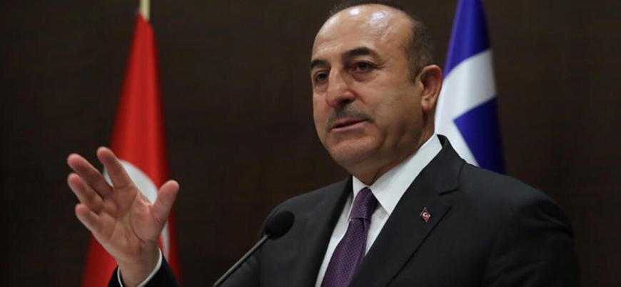 Çavuşoğlu: Yunanistan'ın Ege sınırlarını 12 mile çıkarması savaş nedenidir