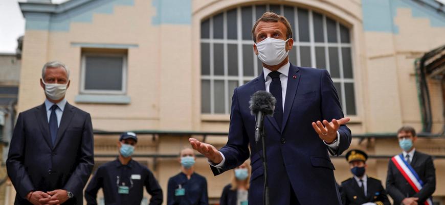 Macron'dan Türkiye'ye 'Doğu Akdeniz' suçlaması