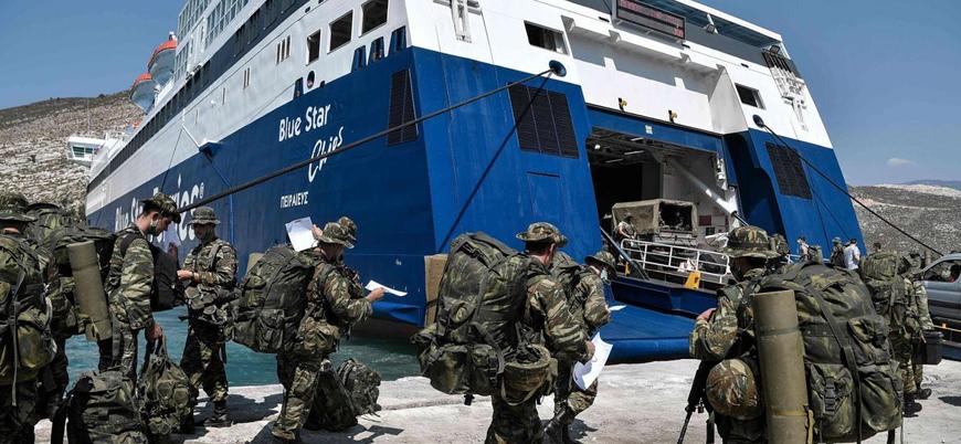 Türkiye'den Yunanistan'a 'Meis Adası'na asker sevkiyatı' tepkisi