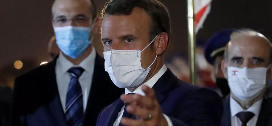 Macron 'egemenlik desteği için' Irak'ta