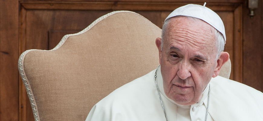 Papa Francis eşcinselliği onaylayan görüşünü açıkladı