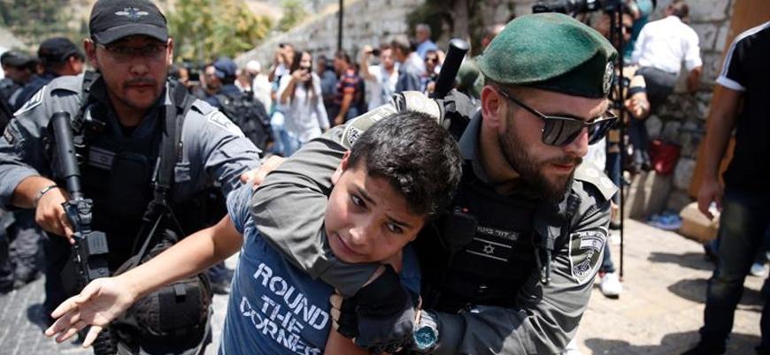 İsrail güçleri bir ay içinde 12'si çocuk 297 Filistinliyi tutukladı