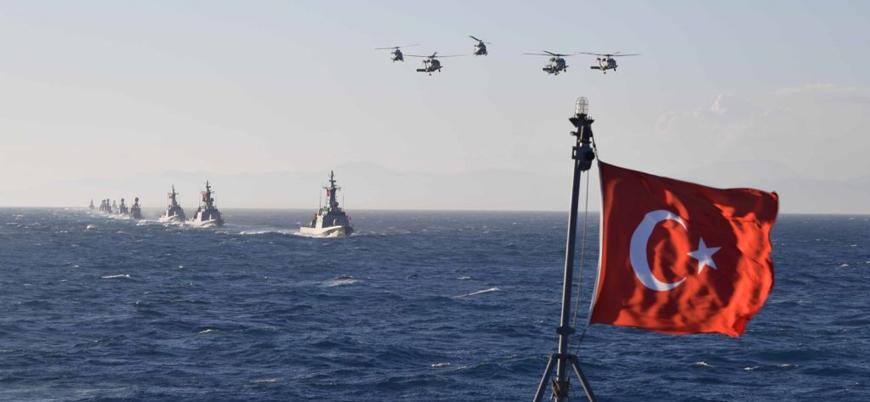 Doğu Akdeniz'de Türkiye ve KKTC'den ortak tatbikat