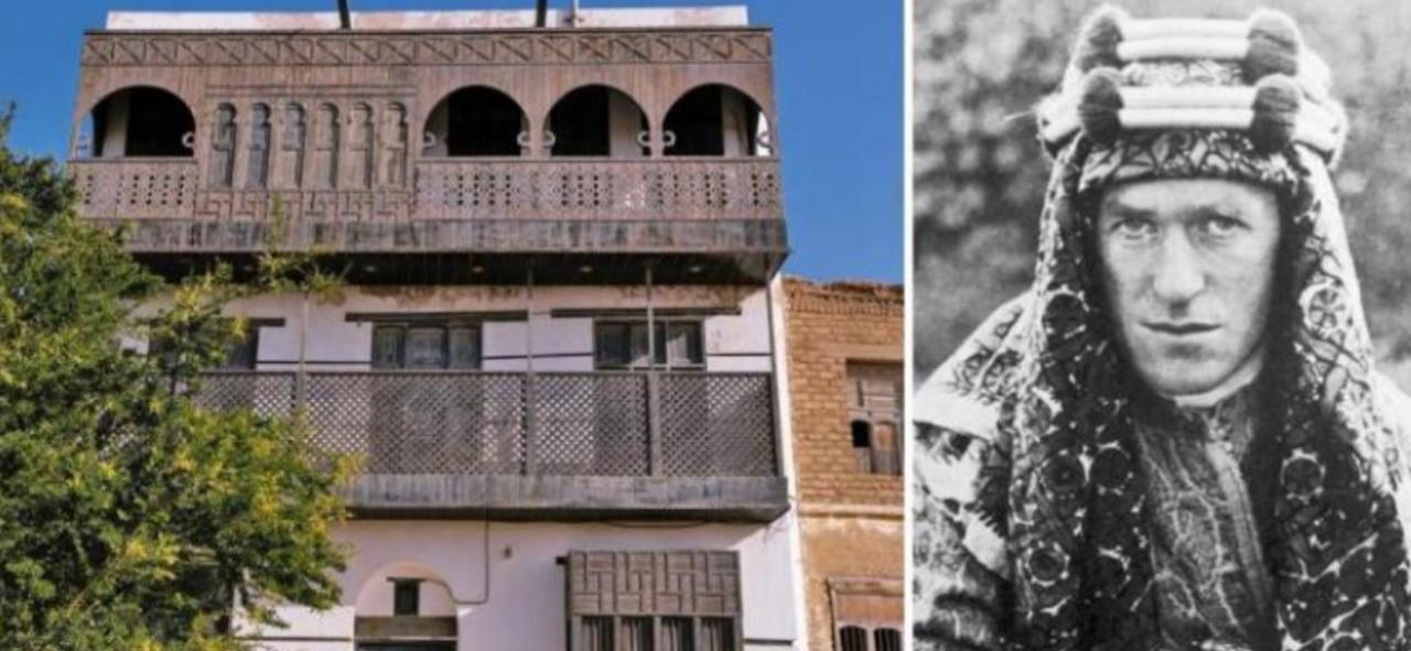 Suudi Arabistan turistleri cezbetmek için 'Arabistanlı Lawrence'in evini yeniliyor