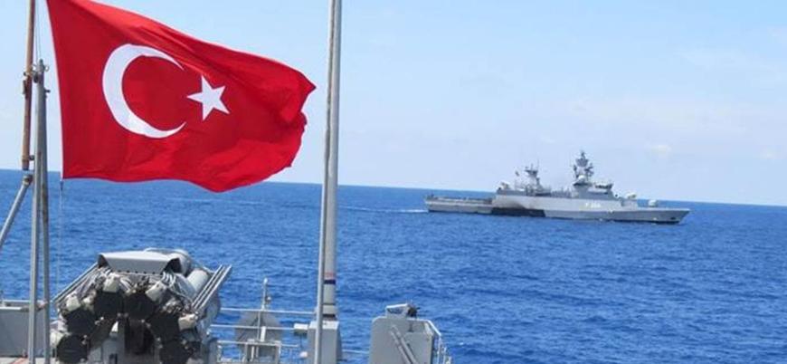 Türkiye ve KKTC'nin ortak tatbikatı Akdeniz'de başladı