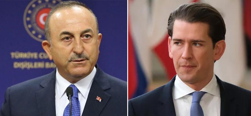 Çavuşoğlu'ndan Avusturya Başbakanı Kurz'a tepki: Hastalıklı zihniyet