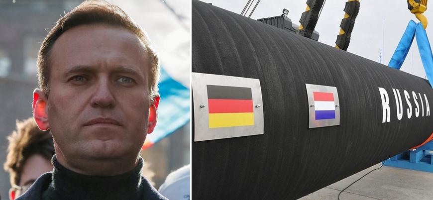 "Almanya'dan Rusya'ya 'Navalny' tehdidi: ""Kuzey Akım 2 tehlikeye girer"""