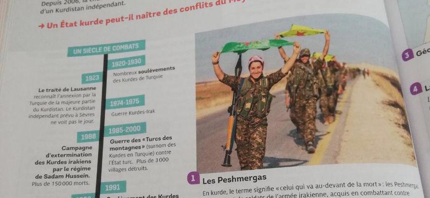 Ders kitaplarında YPG/PKK'ya yer veren Fransa'ya Türkiye'den tepki