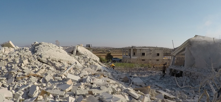 'ABD'den Halep'te hava saldırısı'