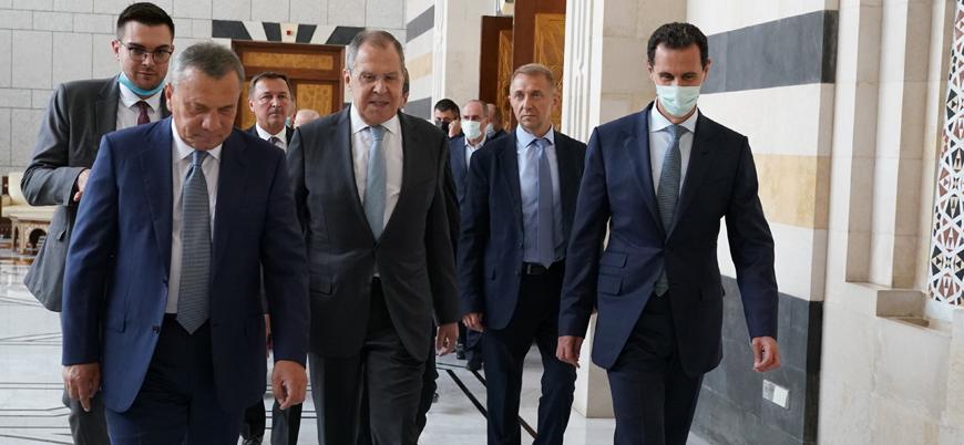 Rusya Dışişleri Bakanı Lavrov 8 yıl sonra Suriye'de
