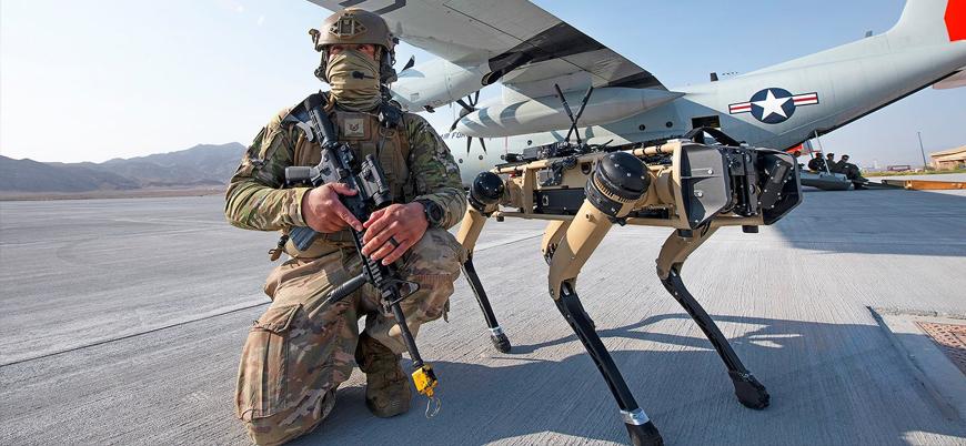ABD ordusu 'robot köpekleri' test etmeye başladı