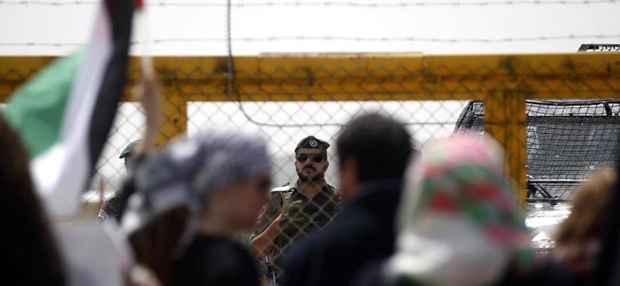 İsrail hapishanelerinde koronaya yakalanan Filistinlilerin sayısı artıyor