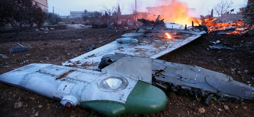 Suriye'nin doğusunda Esed rejimine ait 2 askeri uçak düştü