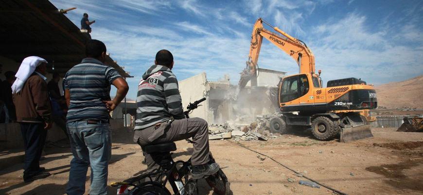 İsrail el-Halil'de Filistinlilere ait evleri yıkacak