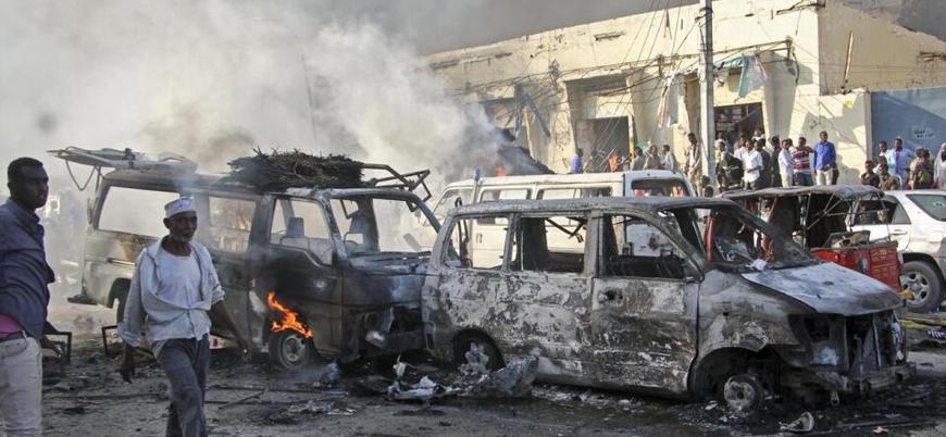 Somali'de Cumhurbaşkanlığı Sarayı yakınlarında bombalı saldırı