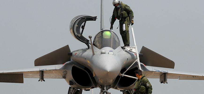 Hindistan'dan Fransız savaş jetleriyle Çin'e gözdağı