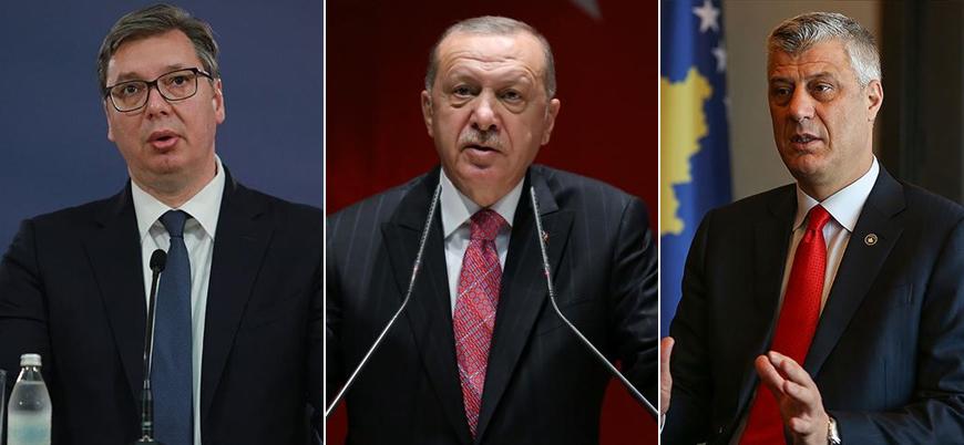 Erdoğan Sırbistan ve Kosova liderleriyle görüştü