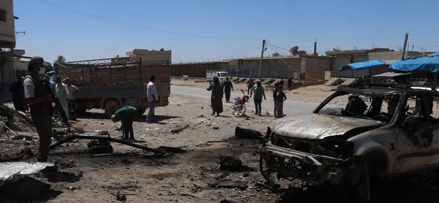 Barış Pınarı bölgesi Rasulayn'da peş peşe iki bombalı saldırı: 21 yaralı