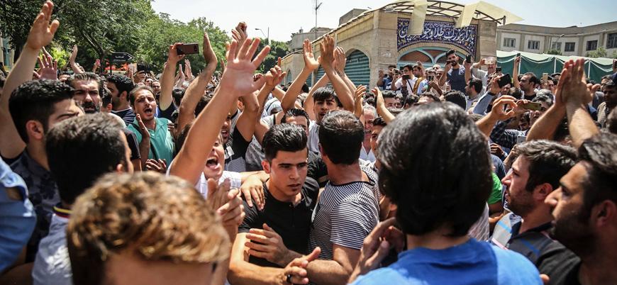 İran'da rejim karşıtı gösterilerde bir güvenlik görevlisini öldürmekle suçlanan kişi idam edildi