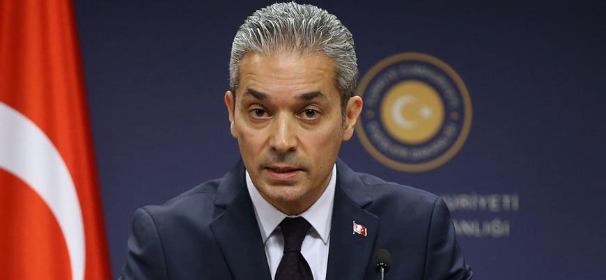 Dışişleri: ABD'nin Kıbrıs'ta attığı adımlar gerginliği artırmaktadır