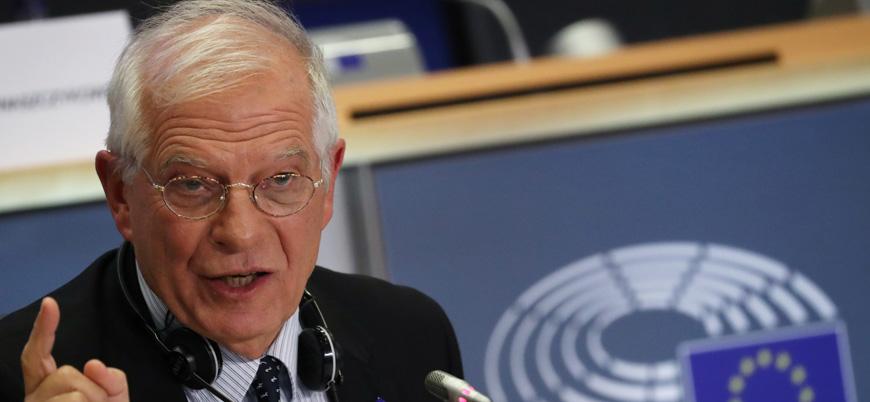 AB Temsilcisi Borrell: Yunanistan ile Türkiye arasında çatışma riski var