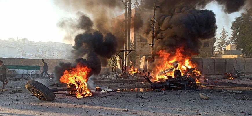 Afrin'de bombalı araç saldırısı: En az 9 ölü