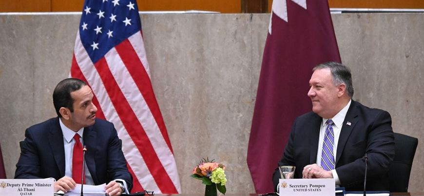 BAE-İsrail imza töreni öncesi ABD'den Katar hamlesi