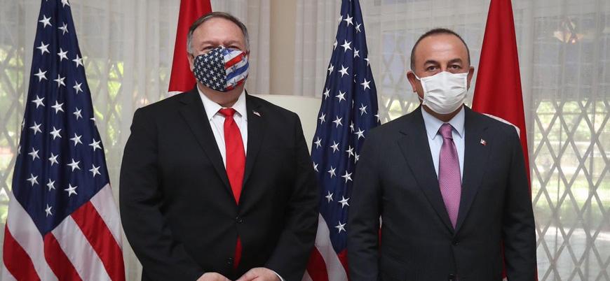 Çavuşoğlu ve Pompeo Doğu Akdeniz gerilimini görüştü