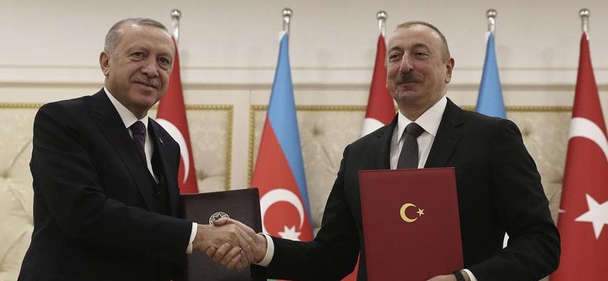 Erdoğan: Türkiye güçlü bir destekle Azerbaycan'ın yanında