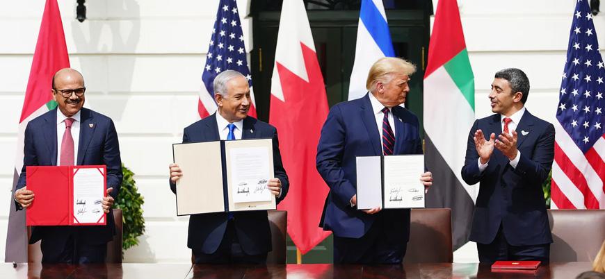 İsrail BAE ve Bahreyn normalleşme anlaşmasına imza attı