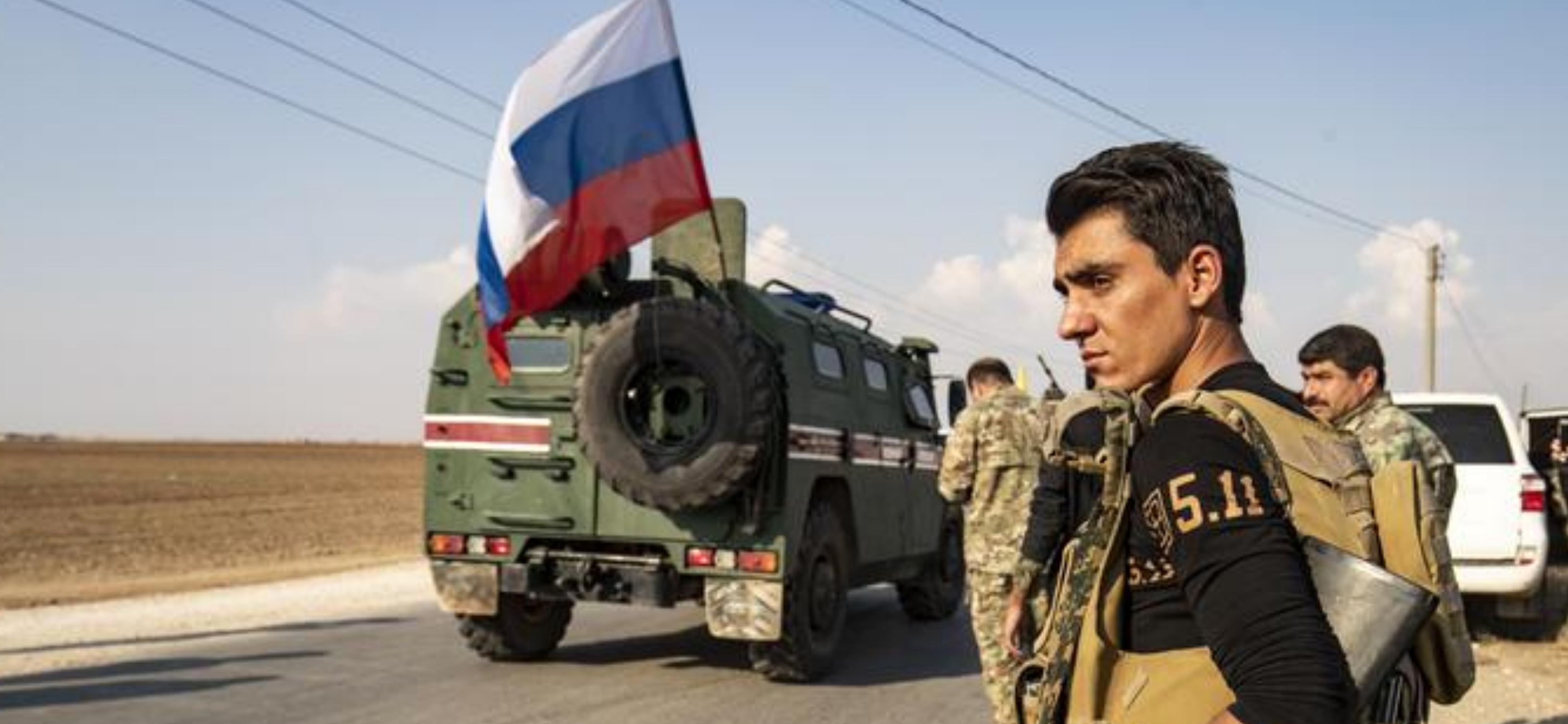 Suriye'de YPG'ye bağlı SDK başkanından Rusya'ya övgü