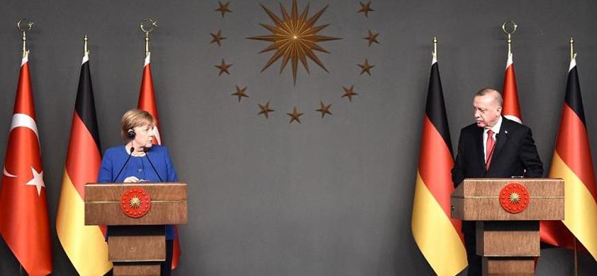 Erdoğan ile Merkel arasında 'Doğu Akdeniz' görüşmesi