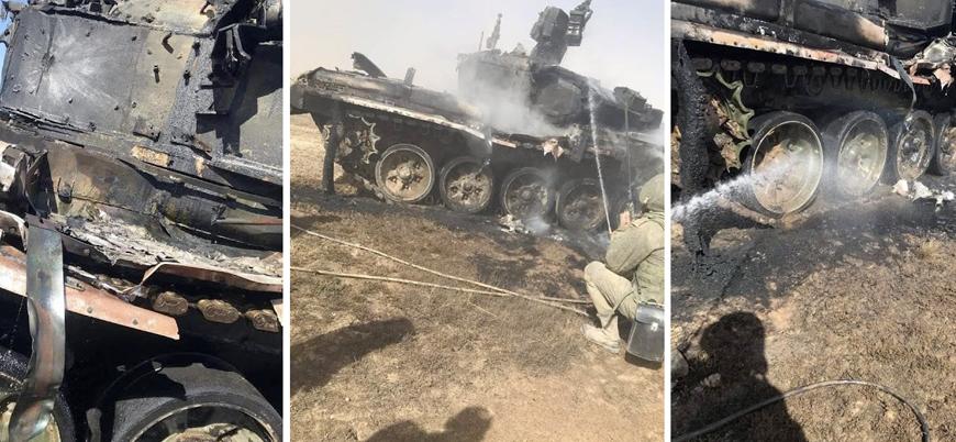 Rus ordusu tatbikatta yanlışlıkla kendi T-90 tankını vurdu