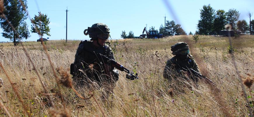 NATO ve Ukrayna'dan Belarus sınırında ortak askeri tatbikat