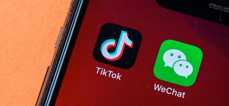 ABD Çin menşeli WeChat ve TikTok'u yasaklıyor