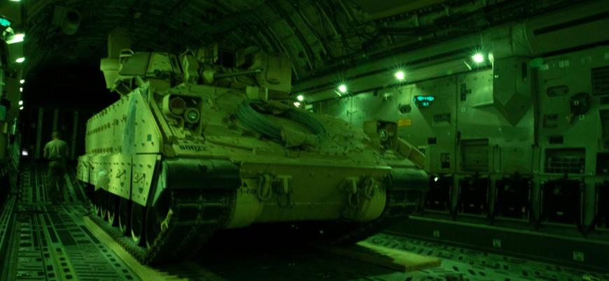 CENTCOM: Suriye'ye zırhlı muharebe aracı sevk ettik