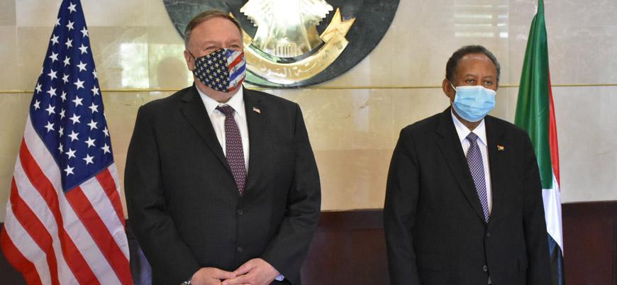 Pompeo: Sudan terörü destekleyen ülkeler listesinden çıkarılmalı
