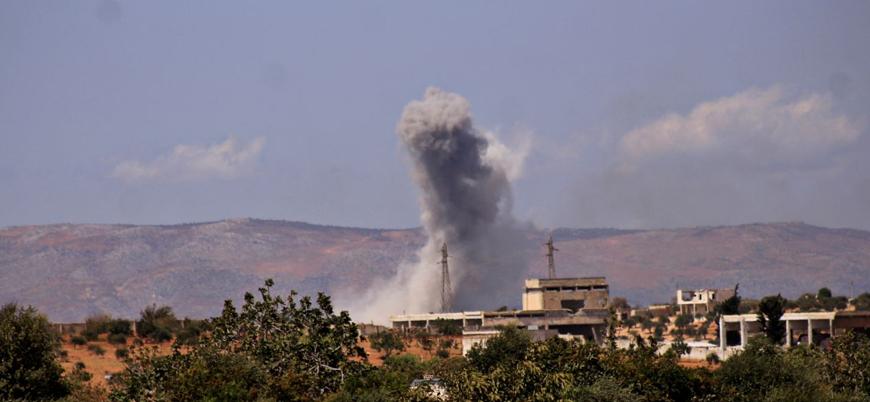 Rusya İdlib'e yönelik son 6 ayın en şiddetli saldırılarını gerçekleştirdi